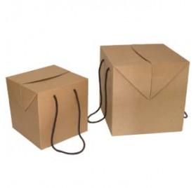 Box cor natural medidas 200x200x200mm