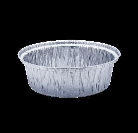 Pack 100 uni. Forma de aluminio redonda 1420ml