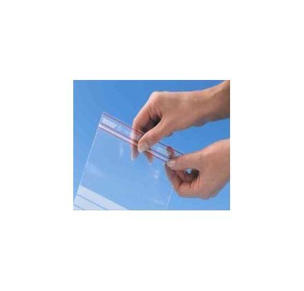 Saco Minigrip® Anti UV com area de escrita