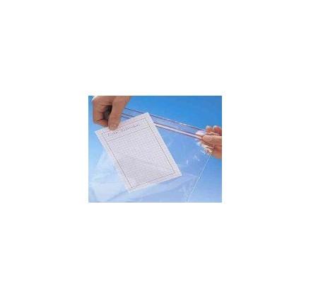 Saco Minigrip® com bolso e area de escrita