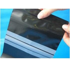 Saco com fecho Zip Anti-UV Opaco Preto