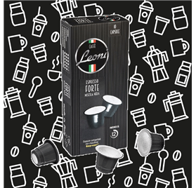 Café Leoni Forte intensidade 10