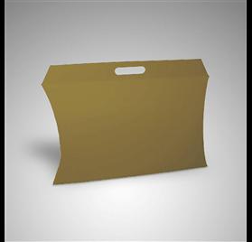 Caixa lise gourmet Kraft c/ pega 400x80x300mm