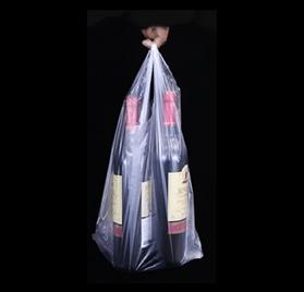 Pack 50 Sacos Alça de supermercado transparente 35x40cm