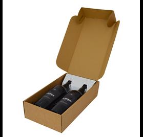 CANTINETTA 2 garrafas. Avana 340x185x90mm