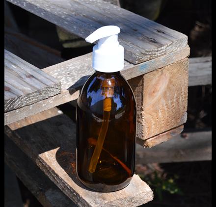 Platus nagų gintaro 250 ml buteliukas