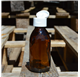 Platus nagų butelis 150 ml gintaro spalvos