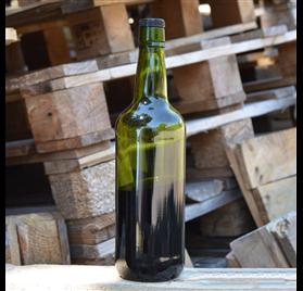 Botella verde Vino Oporto Oscura 75cl