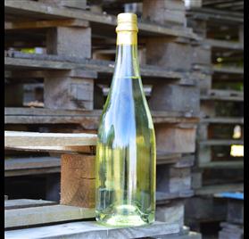 Transparent Champagne Bottle 750ml