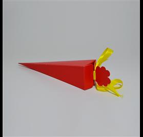 Arrow box rosso cono 155 mm