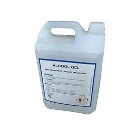 Álcool Gel 5L - Desinfectante Instantaneo Para Mãos