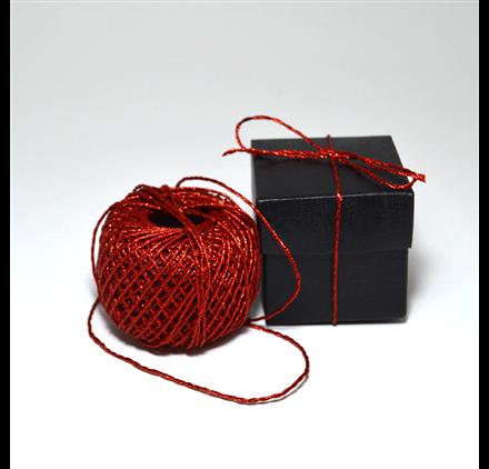 Cordão filex Red Shiny String