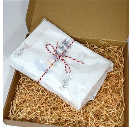 Papier de soie blanc 51 x 76 personnalisé imprimé 1 ou 2 couleurs