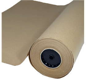 Wrapping Paper Kraft Natural 62Cm X 50M