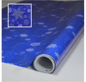 Wrapping Paper Christmas Nigth Blue 70cm x 6m