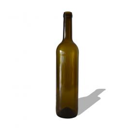 Glass Bottle Classic 750ml Dark