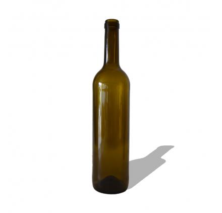 botellas de vino cristal oscura classic 750ml
