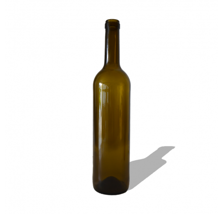 Glass Bottle Classic 750ml Dark