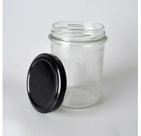 212ml 21cl - Frasco redondo com anel