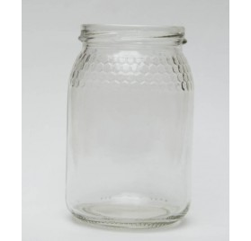 380ml 38cl - Frasco com favo de mel