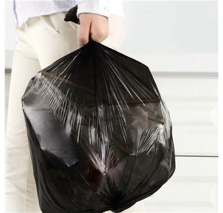 Saco para lixo Preto 60x80cm
