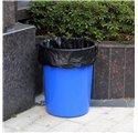 Sacco della spazzatura nero 85x105cm