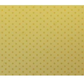 Rolo dourado bolinhas