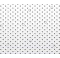Rollo de polipropileno blanco con puntos