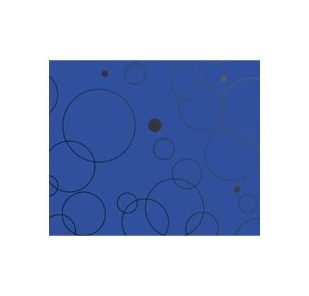 Rolo azul argolas