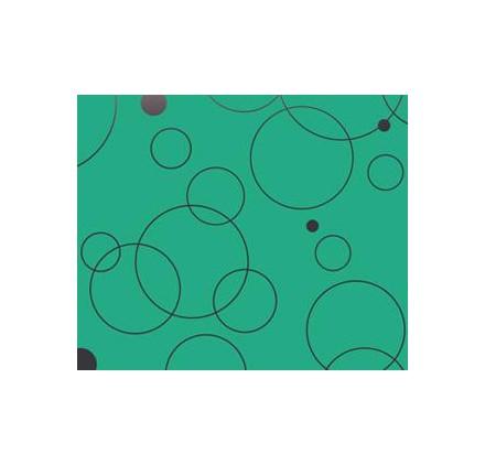 Rolo verde argolas