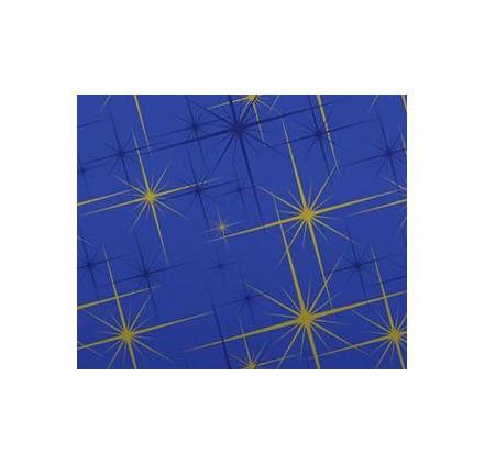 Rolo azul estrelas
