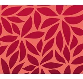 Rolo vermelho folhas