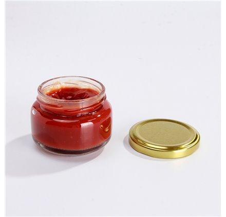 Flacon crème ou confiture 100 ml