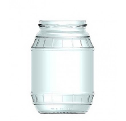 Boião barrilinho 1 litro 1000ml
