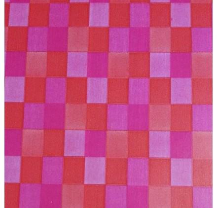 Papel de embrulho tetris rosa