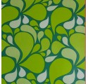 Papel de embrulho abstrato verde
