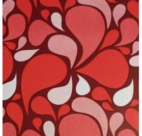Papel de embrulho abstrato vermelho