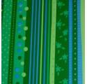 Grüne Blumengeschenkpapier
