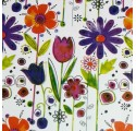 Flower wrapping paper