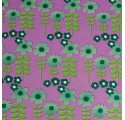Garden wrapping paper flowers lilaz