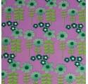 Papel de embrulho xardín de flores lilaz