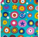 Child smile boy wrapping paper