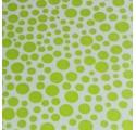 Polipropileno metalizado bolitas verdes