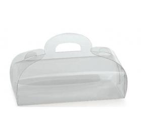 Caixa acetato mini torta 80x50x50mm