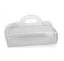 Torta 80x50x50mm mini scatola di acetato