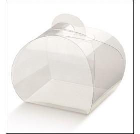 Caixa transparente para amendoas 55x55x50mm