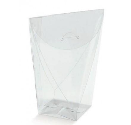 Caixa saco transparente 60x60x140mm