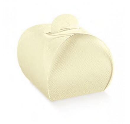 Caixa seta avorio tortina 55x55x50mm