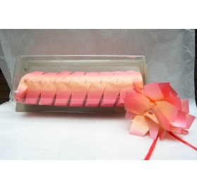 Fita embrulho Svelto bouquet laranja rosa