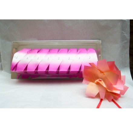 Fita embrulho Svelto bouquet 2 tons rosa